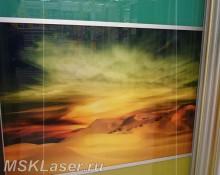 УФ печать на стекло и оргстекло