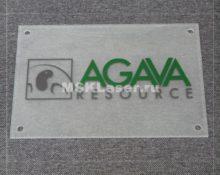 Стеклянные таблички на дверь офиса или кабинета