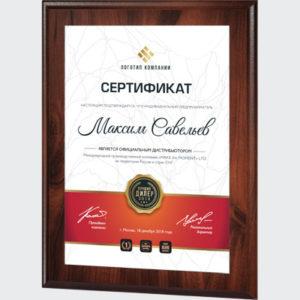 Наградные/Подарочные плакетки
